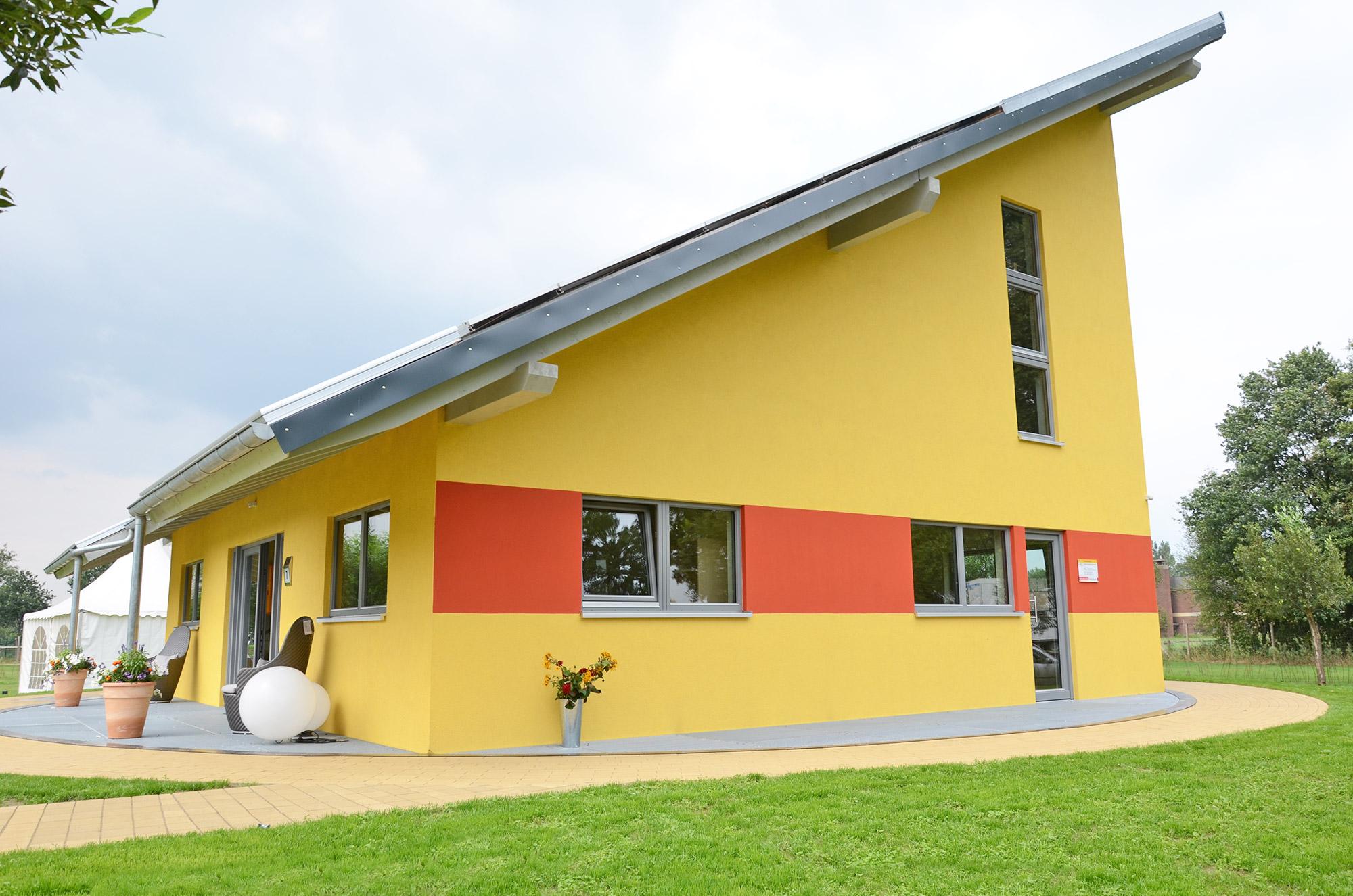 Haus Niedersachsen Energie-Plus-Haus Effizienzhaus Plus