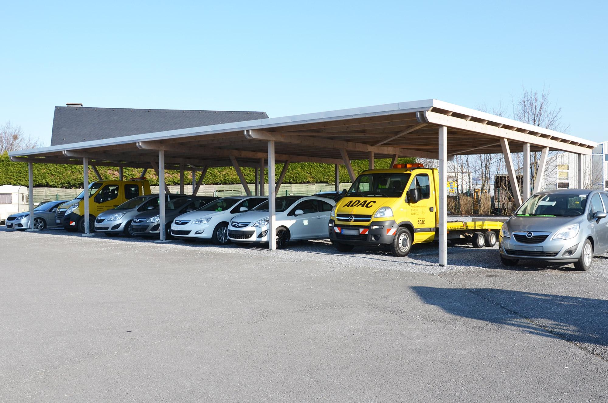 Carports - Roreger Holzbau